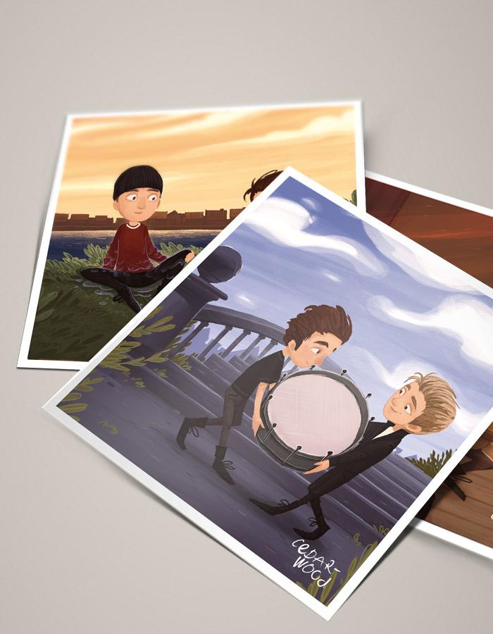 Cedarwood_Postcards_Set